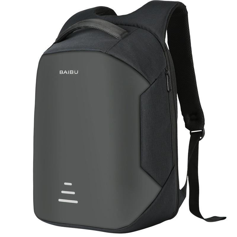 Brand 16 Men Laptop Backpack External USB Charge Antitheft Computer Backpacks Male Waterproof Bags<br>