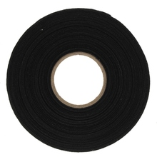 Kicute New Arrival Anti Wear Adhesive Cloth Fabric Tape Cable Looms Wiring Harness Black 25MX9MMX0.3MM Tapes Stationery