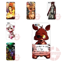 Soft TPU Silicon Best Cases For iPhone 4S 5S SE 6S 7S Plus For Galaxy A3 A5 J3 J5 J7 S4 S5 S6 S7 2016 five nights at freddy Fnaf