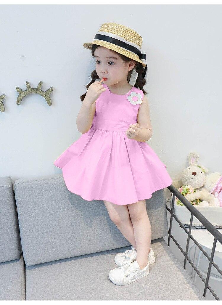 2c4cc66e963 2019 New Arrival Summer Baby Girl Dress Floral Cotton Pretty Little ...