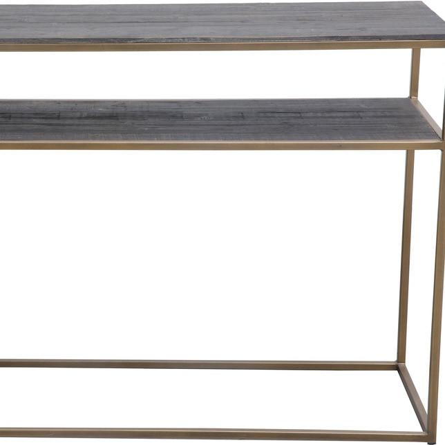 STUDIO CONSOLE TABLE BRASS
