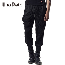 Una Reta 2017 New Men'S Pants Fashion Leisure Hip Hop Joggers Pants Plus Size Trousers Men Women Streetwear Harem Pants(China)
