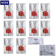 NTNT 10Pcs/Lot For MIELE FJM C1 & C2 Synthetic Type Hoover Hepa Vacuum Cleaner DUST BAGS With 4pcs FILTERS(China)