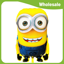 Wholesale! 5pcs/lot 92*65cm Ultra Large Size Cartoon Despicable Me 2 Balloon Minions Balloon for Kids Birthday Party Decorations