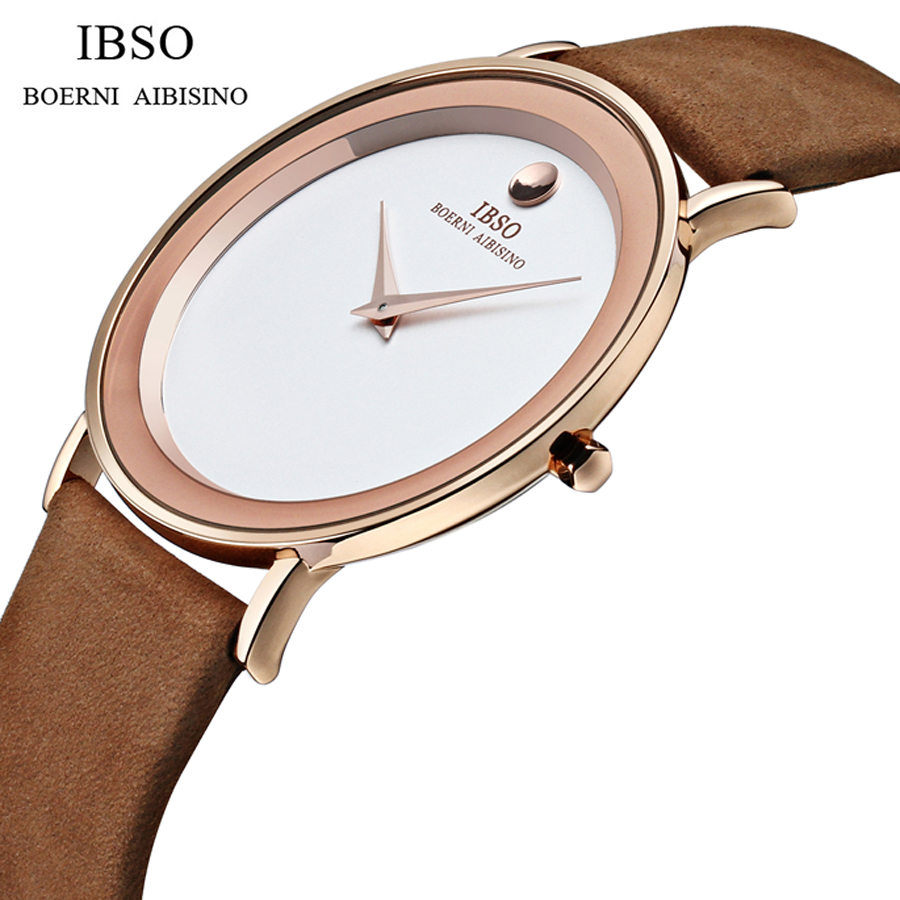 Classic 2016 New Fashion Simple Style Watch Men Casual Trend watch Waterproof Top Famous Luxury Brand IBSO Quartz Watches Men<br>