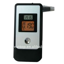 10Pcs Dual Screen Display 4pcs Hidden Exhale Tube Alcohol Tester Breathalyzer With Clock Alcohol Breath Tester(China)