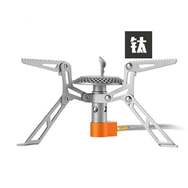 Fire Maple  Split Titanium Gas Stove FMS-117T 98G Portable Super Light Outdoor Camping Cooker Stove Free Shipping<br>