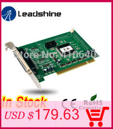 3 pcs per lot Free shipping Economical Leadshine 4 Axis PC Based motion controller DMC 1000B whole set accessory into 1 package