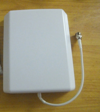 indoor panel antenna 800-2500mhz for GSM 3G DCS CDMA cell phone signal repeater/booster