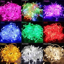 20M Waterproof 110V/220V 200 LED holiday String lights Christmas Festival Party Fairy Colorful Xmas Lights - LS Everbuying Light store