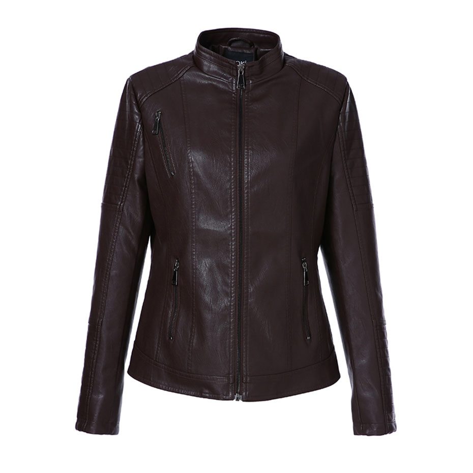Faux Leather Jacket (2)