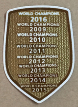 champions 2017 2016 2015 2014 2013 2012 2011 2010 2009 patch football Print patches badges,Soccer Hot stamping Patch Badges(China)