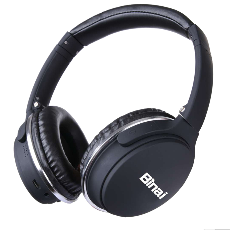 BINAI Advanced Wireless Bluetooth Headphone HIFI Sport Headset with Microphone Stereo Headset Handfree APT-X 57mm Dual Drivers<br>