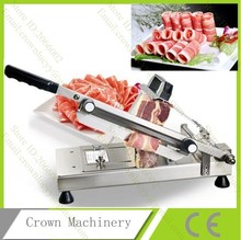 Manual Commercial Frozen meat slicer cutter machine with automatic feed equipment(China)