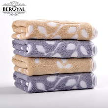 New 2017 -- 2piece 100% Cotton Hand Towel Magic Towel For Adult Towels Bathroom Compressed Towels Size 34*75cm Brand Towel
