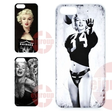 For Galaxy Y S5360 Note 3 Neo Ace Nxt Plus On5 On7 On8 2016 For Amazon Fire Covers Case  marilyn monroe oakland raiders jersey
