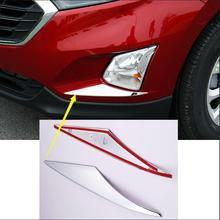 Buy lane legend case Chevrolet Equinox Third GE 2017 ABS Chrome Car Front Fog Light Lamp Cover Trim Auto Head Foglight Frame 2pc for $18.54 in AliExpress store