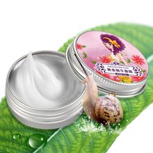 2017 Fresh Gold Snail Face Cream Nutrition Moisturizing Skin Care Products Refreshing Acne Scar Removal Cream(China)