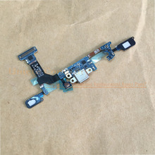 UNQUE USB Charging Port Flex Cable for Samsung Galaxy S7 Edge G935F S7 G930F Earphone Jack Microphone /Touchpad Key Sensor Flex