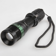 Hot Zoomable Adjustable Focus LED Flashlight Torch Energy Saving 88 CLH(China)