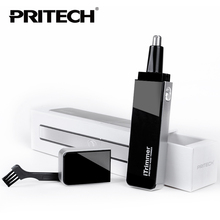 PRITECH TN-188 Professional Nose and Ear Hair Trimmer with LED Light Ultra Modern Design Men's care products Beautify your life(China)