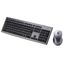 High quality Russian 2.4G Wireless keyboard mouse combo with USB Receiver for Desktop,Computer PC,Laptop and Smart TV(China)