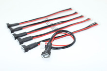 RC lipo battery balance charger plug 2S1P 3S1P 4S1P 5S1P 6S1P Cable 22 AWG Silicon Wire(China)