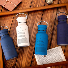 Thermos Vacuum Flasks Stainless Steel Scrubbing Cups Traveling Drink Bottle Stainless Steel Outdoor Sports Water Bottles(China)