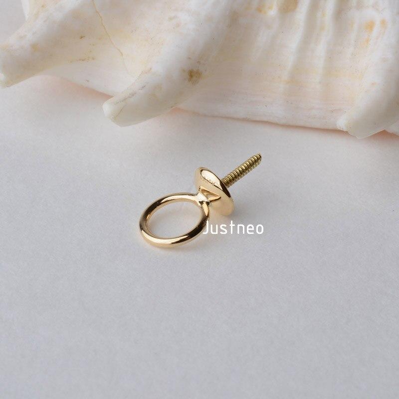 18k gold Pendant Connector 1 (2)