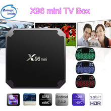 Buy X96 mini Android TV Box KD Player 17.4 Amlogic S905W Quad Core 2GB 16GB UHD H.265 2.4G WiFi 4K Media Player X96mini Set top Box for $21.35 in AliExpress store