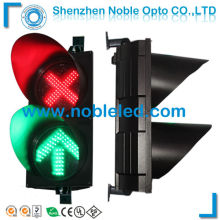 red cross green arrow led traffic light(China)