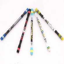 1pcs Penspinning Non Slip Coated Spinning Pen Champion Rolling Pen Ball Point Improve Chile'S Learning Office Supplies