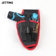 JETTING High Quality Portable Drill Screwdriver Holder Pouch Cordless Tool Oxford Drill Waist Hand Tools