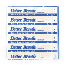 10 pcs/lot Anti Snoring Patches Breathe Right Better Patch Nasal Strip Right Way Stop Snoring Snore Band Health Care Sleeping