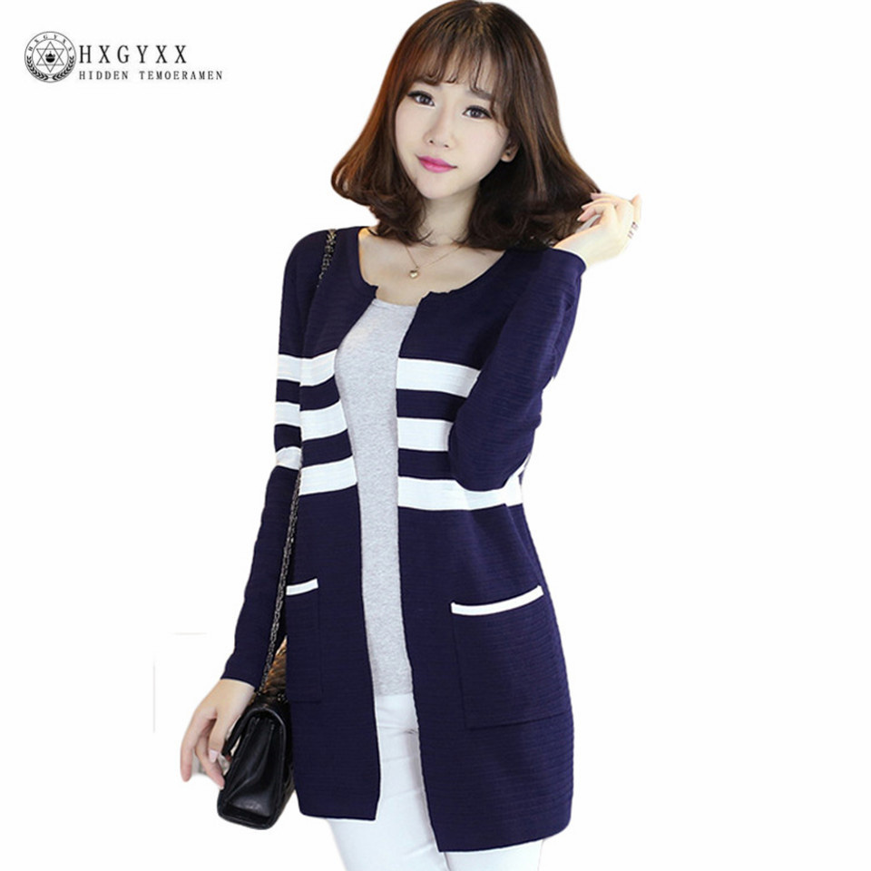 Compare Prices on Women Sweater Cardigan Stripe- Online Shopping ...