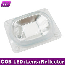 LED Lens For LED COB Lmaps Include: PC lens+Reflector+Silicone Ring Lamp Cover shades Sport Light DIY Need Heatsink for Cooling