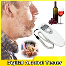 Portable Breath Alkohol Tester Digital Alcohol Tester Breath Analyzer Breathalyzer Body Alcoholicity Meter Alcohol Detection
