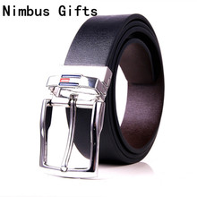Hot saleing leather belt men brand TWO sided BELT Luxury belts for women rotate Buckle Casual Dress men belts cinturones hombre