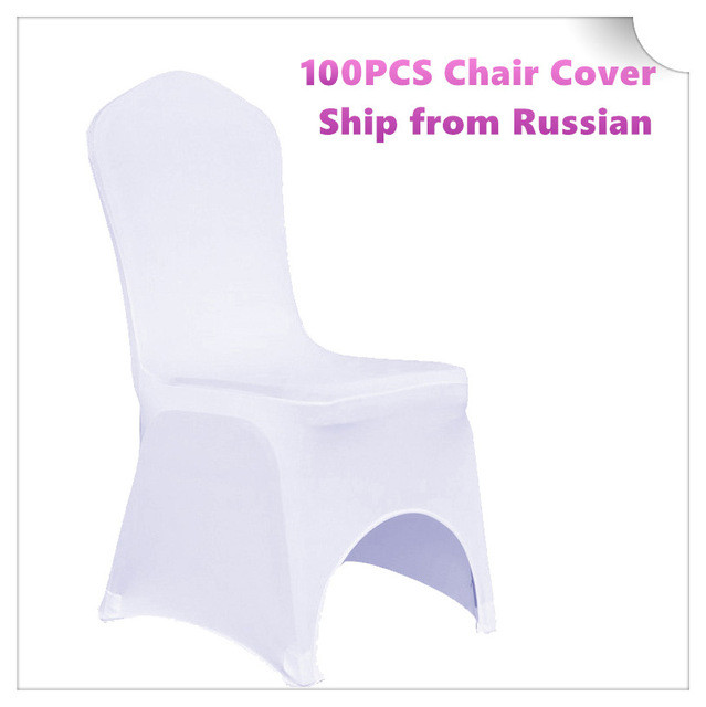 FREE Shipping 100pc Lycra Spandex Stretch Dining Chair Cover for Weddings Party Banquet Hotel Elastic Universal Size Chair Cover(China (Mainland))