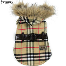 Fashion pattern pet clothes dog winter warm coat puppy winter coat small pets clothes windproof keep warm S M L XL(China)