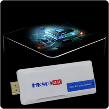 by dhl or ems 10 pieces MK809 4K Android 4.4 RK3288 Quad Core Mini PC TV Stick 2GB/8GB Bluetooth TV Box 4K TV Dongle WiFi(China)