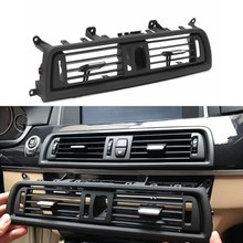 Car Front Console Grill Dash AC Air Vent For BMW 5 Series 520 523 525 528 530 535(China)
