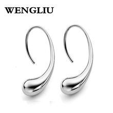 Earrings earrings fashion water droplets design female personality simple gold color silver color selection RD3045