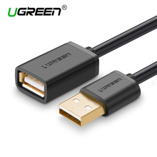 Ugreen USB Extender Cable Male to Female USB 2.0 Extend Extension Cable Black White 0.5m 1m 1.5m 2m 3m for Laptop Computer PC