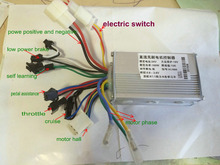 24v36v48v60v 250w350w 6 mosfet dual mode BLDC motor speed controller electric scooter bike mtb tricycle moped pedalmotor parts