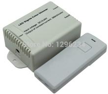 RF Audio constant current dimmer;LED Single Color controller;DC12-24V input; Output: 350/700mA*2channels, 12V<8.4W,  24V<16.8W