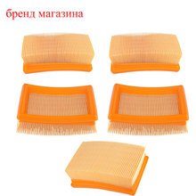5*Lots New Arrival Air Filter Cleaner For STIHL 4224-141-0300 4224 141 0300A TS700 TS800 Lawn Mower Gaslina Parts