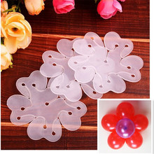 5 In 1 Balloon Modelling Seal Clip Balloon Sticks Plum Flower Tie Latex Balloon Sealing Clips Wedding Party Decoration Supplies