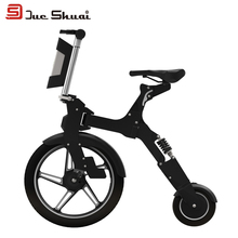 36V 250W MINI Q Electric Folding Bike Bicycle for Adult and Child Quick Release USB Interface LED Easy to Carry velo electrique
