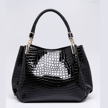 Hot Sale Fashion Style 2017 New Arrivals Crocodile HANDBAG BAG Tote Bag Ladies Leisure Trends In Europe and America B25 30(China)